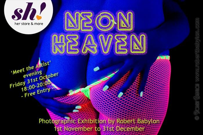 Neon Heaven Erotic Art Exhibition