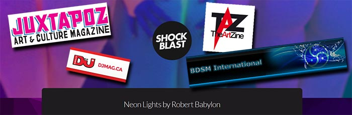 Robert Babylon - Neon Lights Articles