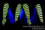 Neon BumbleBee Legs