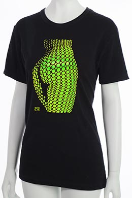 """Bubbles"" T-Shirt - Green"