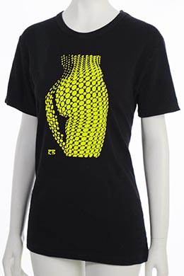 """Bubbles"" T-Shirt - Yellow"