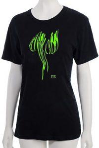 """Lava Globes"" T-Shirt - Green"