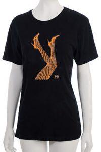 """Legs"" T-Shirt - Orange"