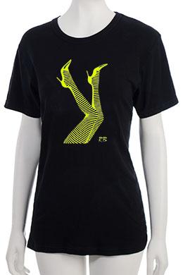 """Legs"" T-Shirt - Yellow"