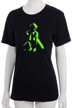 """""""Defiance"""" T-Shirt - Green"""