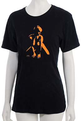 """Defiance"" T-Shirt - Orange"