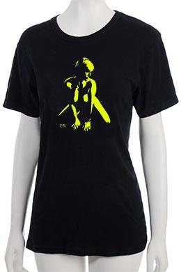 """Defiance"" T-Shirt - Yellow"