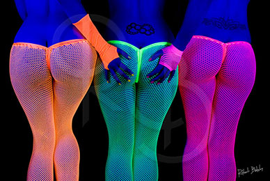 Three UV Bums Poster